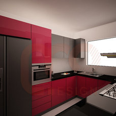 Modern Kitchen Cabinetry by MO Designs