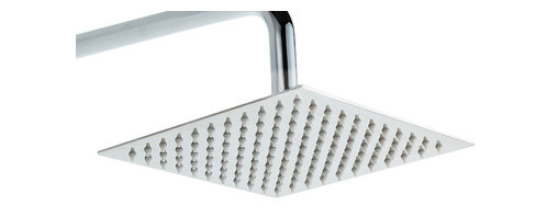 """GOLDEN VANTAGE - GV 9 3/4"""" Ultra Thin Chrome Finish Stainless Steel Shower Head - GV shower head features a sleek design that can accent most bathroom decor, The entire shower head body is made of solid stainless steel chrome finish provides long lasting durability and easy cleaning."""