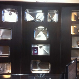 Rockville Showroom - All types of shapes and styles for undermount sinks