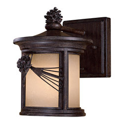 The Great Outdoors - The Great Outdoors 9151-A357-PL 1 Light Wall Mount - The Great Outdoors 9151-A357-PL 1 Light Wall Mount