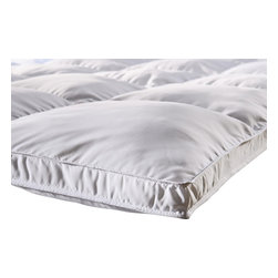 Down Alternative Twin Mattress Topper - Down Alternative Twin Mattress Topper