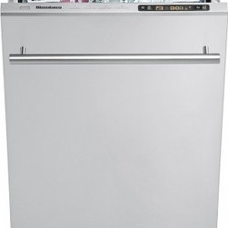 "Blomberg - DWS54100SS 18"" Fully Integrated Dishwasher With 9 Place Settings  50 dB Silence - This item is for a 18 wide integrated top control dishwasher This dishwasher features all stainless steel interior which protects the dishwasher from heat and corrosion so your dishwasher will last you a long time water counter which ensures the righ..."