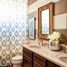 Traditional Bathroom by J & J Design Group, LLC.