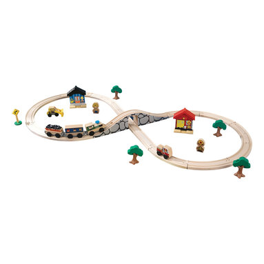 KidKraft - Kidkraft Kids Play Figure Motor Skill Development 8 Shaped Train Set 38 Pieces - Our Figure 8 Train Set would make a great starter set for any young boy or girl who has never owned one before. It's tons of fun pushing the train up and down the long, hilly track. Learning how the different track pieces connect even helps kids improve their fine motor skills.