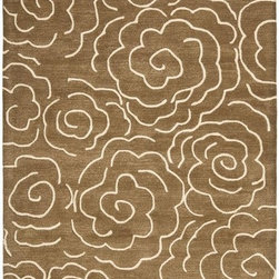 Home Decorators Collection - Mystical Area Rug II - With the look and feel of handmade wool, the Mystical Area Rug from the Metropolitan Collection is a beautiful cool-hued rug with an elegant accented design. This hand-tufted wool area rug provides style and durability to stand-up to the busiest of homes. Order this beautiful area rug today. Hand-tufted wool rug. Available in a variety of colors.