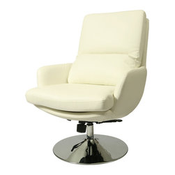 Pastel - Contemporary Club Chair in Ivory - The Pennywise Club Chair is a smart and modern design blends quality, value, style as well as comfort to any room.