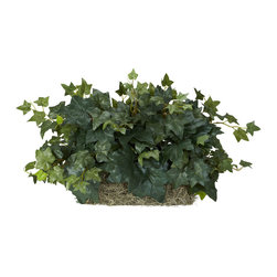 Nearly Natural - Ivy Set on Foam Sheet Silk Plant - Dull, dreary ledges got you down? Well, liven them up with this stunning Ivy Ledge Silk Plant. Perfectly sized to fit just about any ledge (shelf / mantle), this is an ideal piece for any room that 'needs a little green'. Also perfect for bringing a fresh look to spaces where space is at a premium. Comes on a decorative foam sheet for easy placement.