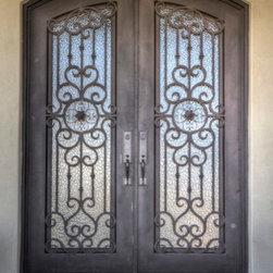 Double Iron Doors -