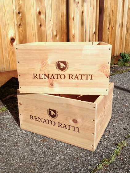 Weekend project reinvent a wine crate for Small wine crates