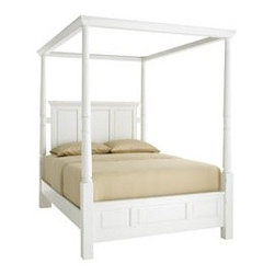 Ashworth King & Queen Beds - Have you been agonizing over what style bed you should buy?  Agonize no more...have them all!  the Ashworth Bed is a truly amazing bed that will convert into 5 different style beds from canopy to four-poster to low posts!  If you get tired of one look, just change it up!