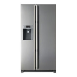 Fagor - FQ9925XUS 19.4 cu. ft. Capacity Side by Side Refrigerator  External Water/Ice Di - With unrivaled style and Energy Star rated performance the Fagor Energy Star Side-by-Side Refrigerator Freezer with Ice and Water Dispenser FQ9925XUS is sure to be the focal point of your kitchen Featuring an electronic temperature control the Turbo-...