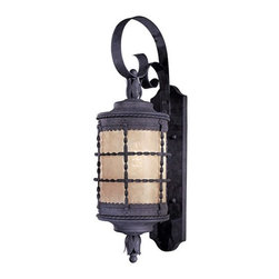 """The Great Outdoors - The Great Outdoors GO 8881-PL 1 Light 28.75"""" Height Fluorescent Outdoor Wall Sco - Single Light 28.75"""" Height Fluorescent Outdoor Wall Sconce from the Mallorca CollectionFeatures:"""