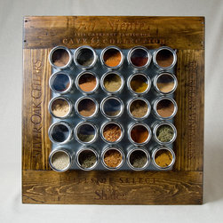 Wine Crate Spice Rack - Ignite Images
