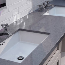 Contemporary Vanity Tops And Side Splashes by Jorca Contractors