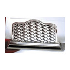 Godinger Silver - Godinger Weaved Letter Holder - Smarten your office to attract diligent workers. This letter holder will make all the difference. Try it and see it works! Perfect for your desk to store all your newly invoices ready to be entered. Classy yet elegant, this piece makes a great for a boss or co-worker. Dimensions: 5 x 2 x 3 inches.