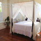 Savannah Pencil Post Canopy Bed - Wood Designs Inc.  All Rights Reserved.
