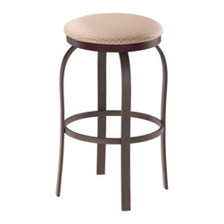 Trica - Trica Truffle Backless Swivel Bar Stool, 30 Inches (Bar Height) - *Available in counter, bar or spectator height