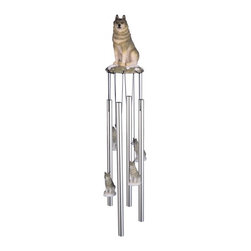 GSC - Wind Chime Round Top Wolf Hanging Porch Garden Decoration Windchime - This gorgeous Wind Chime Round Top Wolf Hanging Porch Garden Decoration Windchime has the finest details and highest quality you will find anywhere! Wind Chime Round Top Wolf Hanging Porch Garden Decoration Windchime is truly remarkable.