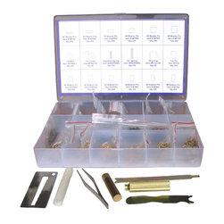 DoorCorner.com - Kwikset KR-001 Rekey Pin Kit Locksmith Tool Box - Kwikset Rekey Kit Locksmith Tool Box includes: