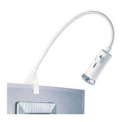 WAC Lighting - WAC Lighting DL-024 Line Voltage Display Picture Light - 150W Single light line voltage display light. Directs light exactly where needed and accepts any medium base lamp.
