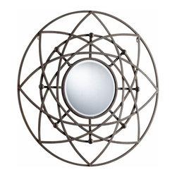 Decorative Rustic Iron Frame Robles Mirror - *Robles Mirror