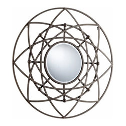 Decorative Rustic Iron Frame Robles Mirror - *Robles Mirror