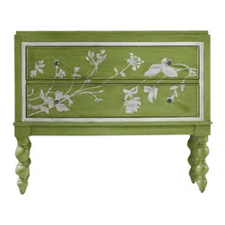 Hooker Furniture - Hooker Furniture Melange Spring Garden Chest in Green - Hooker Furniture - Accent Chests - 63885084 - Come closer to M��lange and you will discover something unexpected an eclectic blending of colors textures and materials in a vibrant collection of one-of-a-kind artistic pieces.