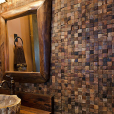 Eclectic Tile by Tahoe Real Estate Photography