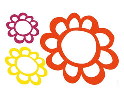 RoomMates - Flowers Dry Erase Peel & Stick Giant Wall Decals - Keep track of reminders, grocery lists, or just write notes to your family with these vibrant flowers. These genuine dry erase wall decals will be a big hit with both kids and adults, and can be applied to any flat surface, including walls, doors, windows... even the fridge! Pair them together or split them up throughout the house for even more fun.