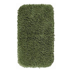 "Garland Rug - Bath Mat: Accent Rug: Serendipity Deep Fern 30"" x 50"" Bathroom - Shop for Flooring at The Home Depot. This heavyweight shag bath rug will fit easily into any bathroom decor. Serendipity is made with 100% Nylon for superior softness and colorfastness. And is proudly made in the USA.."