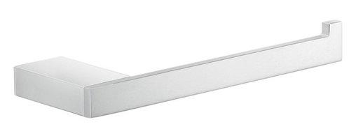 Gedy - Square Chromed Brass Toilet Roll Holder - Stylish modern square toilet roll holder.