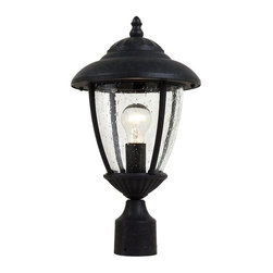 Sea Gull Lighting - Sea Gull Lighting 82068-746 One Light Outdoor Post LanternLambert Hill Collectio - Sea Gull Lighting 82068-746 One Light Outdoor Post LanternLambert Hill Collection