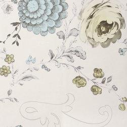 Blooming Filigree Mural -