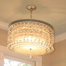 Eclectic Bathroom Lighting And Vanity Lighting by SR Design Group, Inc.