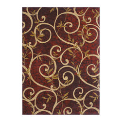 Shaw Industries, Inc - Cedar Key Rug in Red -