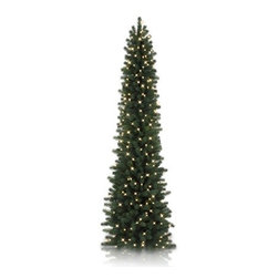 Balsam Hill Sonoma Slim Pencil Artificial Christmas Tree - THE REFRESHING BEAUTY OF BALSAM HILL'S SONOMA SLIM PENCIL TREE |