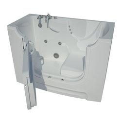 Arista - 30 x 60 Left Drain Whirlpool Jetted Wheelchair Accessible Walk-In Bathtub - DESCRIPTION