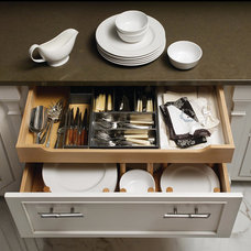 Traditional Kitchen Drawer Organizers by Majestic Kitchens and Bath