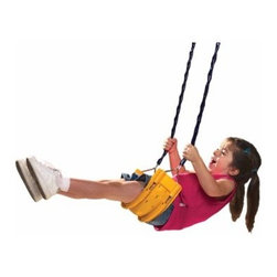 Little Tikes Cozy Swing - For generations, the Little Tikes Cozy Swing has been helping kids grow up while they enjoy their youth. One of the first glints of realizing you're now a big kid is being able to swing yourself and no longer having to yell to someone older, Push me! Push me! The motion takes a complex physical understanding and coordination while it simultaneously releases a euphoric wave of independence. Having this big kid's swing right in your backyard means you'll be right there, able to witness your children making that leap. And because they're never too big for safety, Little Tikes has constructed this swing with a heavy-duty chain covered in a no-pinch plastic sheath. The flexible seat has a soft contour that will enable them to comfortably perfect this new trick by spending hours out on it at a time.About Little TikesFounded in 1970, the Little Tikes Company is a multi-national manufacturer and marketer of high-quality, innovative children's products. They manufacture a wide variety of product categories for young children, including infant toys, popular sports, play trucks, ride-on toys, sandboxes, activity gyms and climbers, slides, pre-school development, role-play toys, creative arts, and juvenile furniture. Their products are known for providing durable, imaginative, and active fun.In November of 2006, Little Tikes became a part of MGA Entertainment. MGA Entertainment is a leader in the revolution of family entertainment. Little Tikes services the United States from its headquarters and manufacturing facility in Hudson, Ohio, but also operates several manufacturing and distribution centers in Europe and Asia.