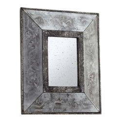 Cyan Design - Cyan Design Andreas Mirror in Antique Silver - Cyan Design Andreas Mirror in Antique Silver from Mirrors Collection