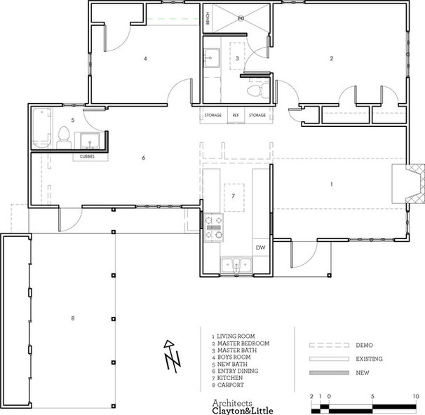 Floor Plan by Clayton&Little Architects