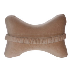 Living Healthy Products - Bone Pillow - Memory Foam Car Neck PIllow - The Bone Pillow is the pillow you need to maintain yourself relaxed and comfortable when you sleep or simply rest. When you keep your neck and head in a healthy and correct sleeping posture, you will enjoy a restorative and refreshing rest.