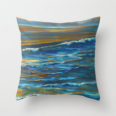 Tropical Decorative Pillows by APC Fine Arts & Graphics Gallery