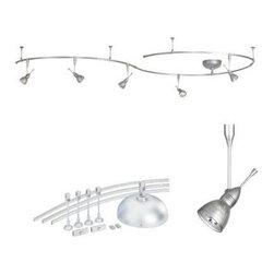WAC Lighting - WAC Lighting LM-K9415 Monorail Complete Kits - WAC Lighting LM-K9415 Complete Monorail Kit