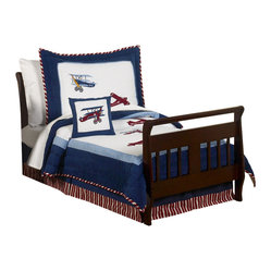 Aviator Toddler Bedding Set