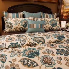 traditional duvet covers by K&R Bedspreads