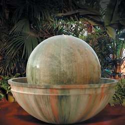 Outdoor Garden Water Features - This garden water feature is ideal to any home. Engineered to perfection, this garden waterfall was fabricated to work well through many seasons. Getting this particular fountain up and running is effortless; we designed it so that you can basically unpack , plug in, and begin to operate. Additionally, this outdoor waterfall uses a standard 110 AC outlet. Transforming your garden into a peaceful hide-away is easy to do by ordering this water feature.