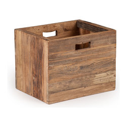 ZUO ERA - Custer Box Distressed Oak - Custer Box Distressed Oak