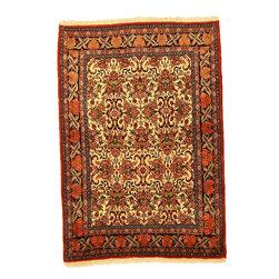 eSaleRugs - 3' 5 x 4' 11 Bidjar Persian Rug - SKU: 110900773 - Hand Knotted Bidjar rug. Made of 100% Wool. Brand New.