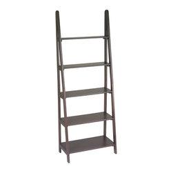 Office Star - Office Star Ladder Bookcase - OSP Designs Ladder Bookcase